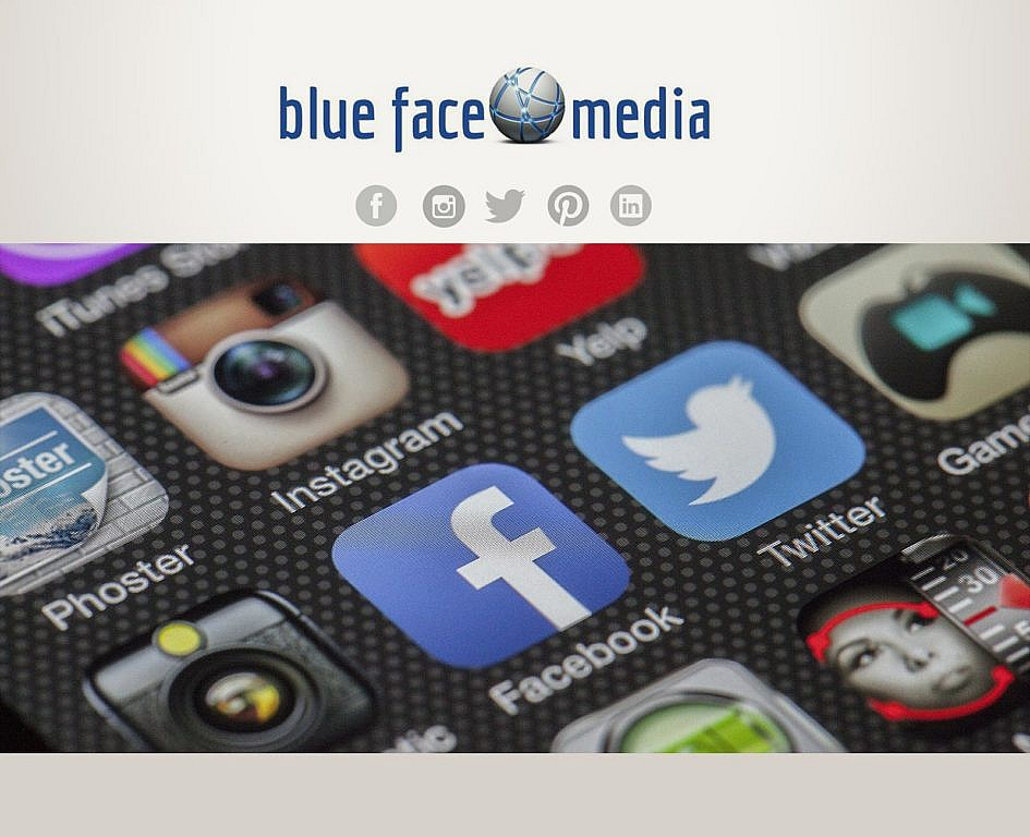 JinnyJo Media - blue face media